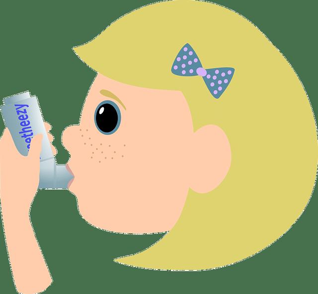 Cause de l'asthme et variante de traitement contre la toux asthmatique.
